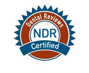 NDR dental reviews certified