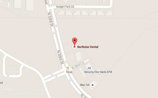 dentist-lincoln-ne-northstar-dental-map - Northstar Dental on