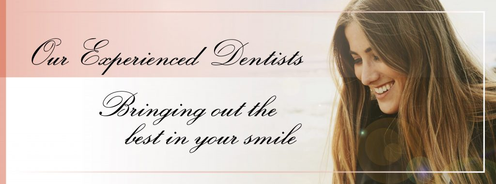 Experienced Dentist banner