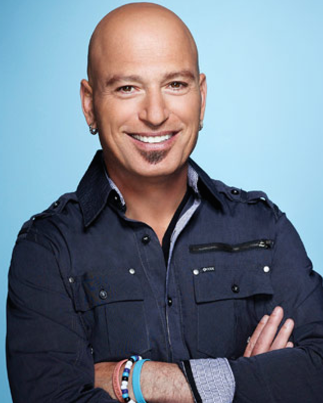 Image of Howie Mandel who is happy he has overcome his dental anxiety.