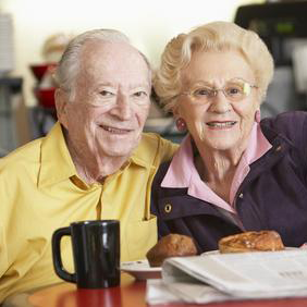 Implant Dentures couple
