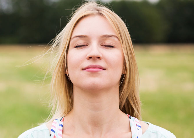dental anxiety tips to take deep breathes
