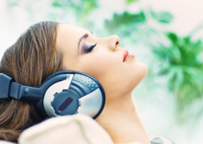 dental anxiety tips to listen to relaxing music