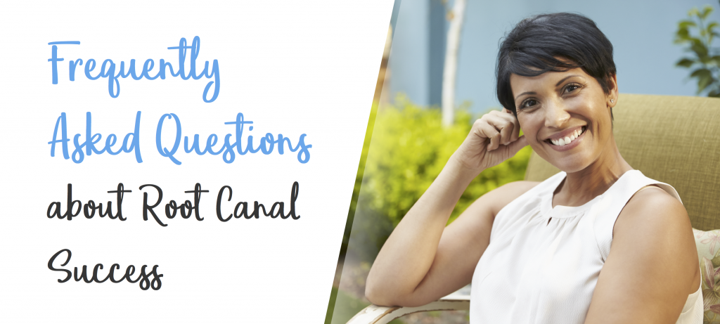 root canal success banner for FAQ root canal success